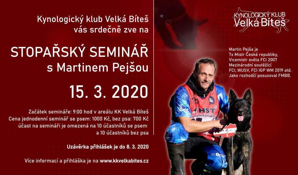 stoparsky seminar 2020 - Martin Pejsa_KK Velka bites